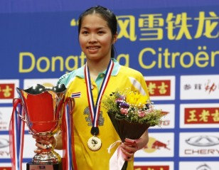 Wang Lao Ji BWF World Championships 2013 - Day 7: Lin Dan's 'High Five'; Intanon Triumphs