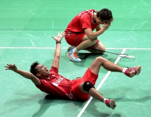 'Four' Sure! – Doubles Finals: TOTAL BWF World Championships 2017
