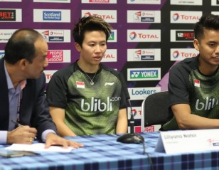 Ahmad/Natsir Brimming With Confidence