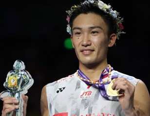 Momota Climbs to Fourth Spot