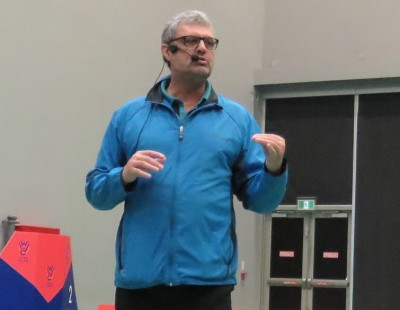 Kenneth Larsen Pitches for Reflective Training