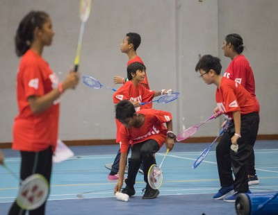 BWF Encourages 'Sport For All' Through Charity Coaching Clinic