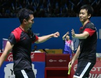 Ahsan/Hendra Play it Cool Despite Hot Form