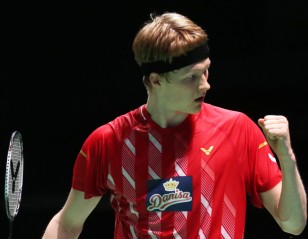 Free of Pressure, Antonsen Senses His Chance