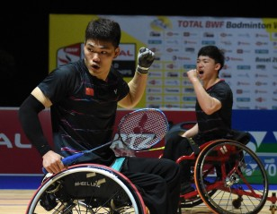 China Take Two Gold – Basel 2019