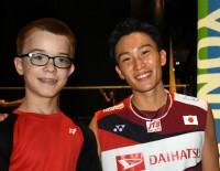 Teenage Shuttler Meets His Idol - Basel 2019