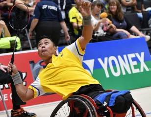 Wheelchair Top Seed Toppled – Basel 2019