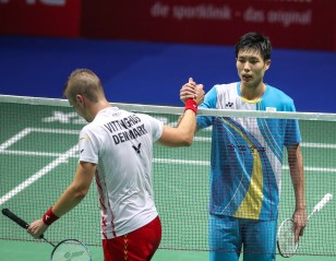 Chou Survives Danish Test  – Basel 2019