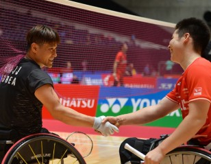 Kim Gives Kajiwara Four Years – Japan Para Badminton International 2019