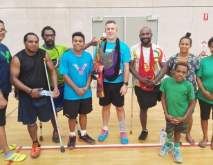 PNG's Para Players Set to Showcase Skills