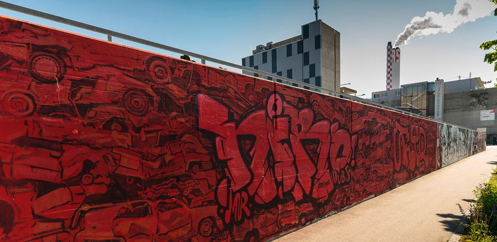 Graffiti Bell Area