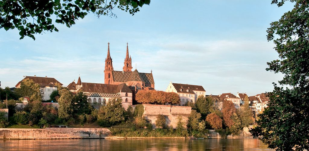 Panorama Basel Cathedral